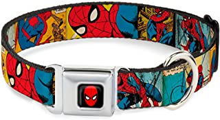 Buckle-Down Seatbelt Buckle Dog Collar - Spider-Man Comic Strip - 1