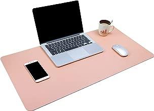 Dual-Sided Multifunctional Desk Pad, Waterproof Desk Blotter Protector, Leather Large..