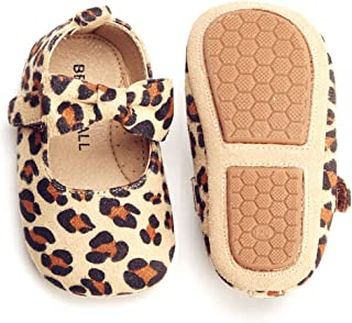 faae2ac1ba93 Bear Mall Infant Baby Girl Shoes Soft Sole Toddler Ballet Flats Baby  Walking Shoes