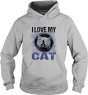 I Love My Cat T Shirt, Cute Cat T Shirt