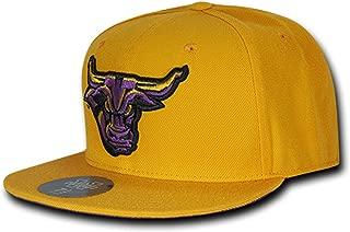 University of Minnesota State Mankato Mavericks NCAA Fitted Flat Bill Baseball Cap Hat