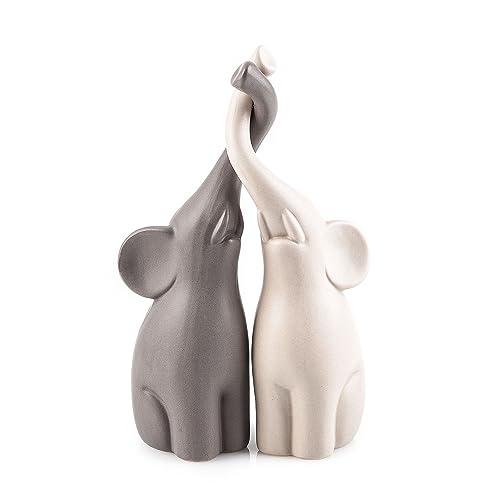 0b5c1b972470 Pajoma 54837 Loving Elephants Set of 2