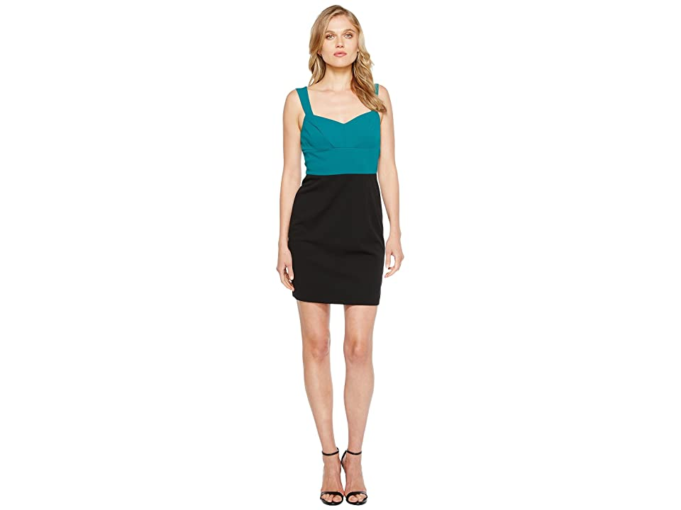 CeCe Alexa Sleeveless Cross-Back (Forest Shade) Women
