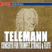 Telemann: Concerto For Trumpet, Strings & B.C. - Sonata In F Major - Concerto For Block Flute, Strin