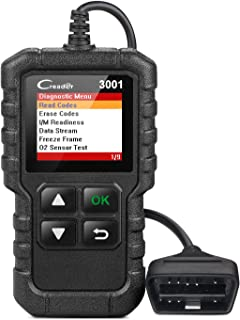 LAUNCH Creader 3001 OBD2 Scanner Automotive Car Diagnostic Check Engine Light O2 Sensor..