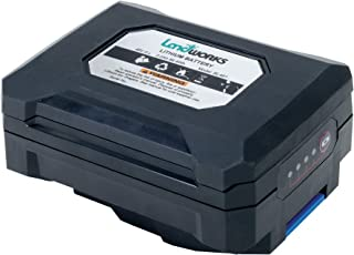 Landworks Heavy Duty Pro 48V DC 2Ah Lithium Ion Rechargeable Battery with 88.8 Watt Hours Capability (ONLY for Landworks Earth/Ice Auger Power Head) (Battery ONLY, Power Head & Charger NOT Included)