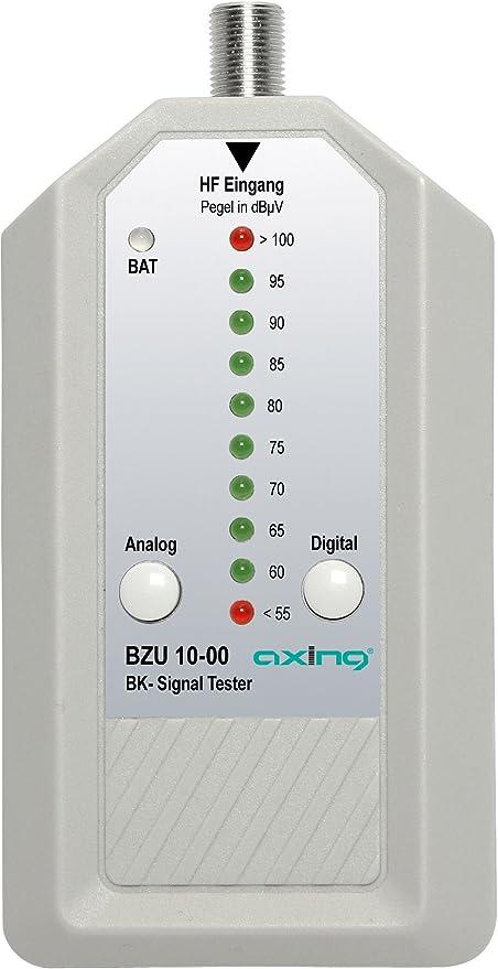 Axing Bzu 10 00 Bk Signaltester Kabelfernsehen Analog Elektronik