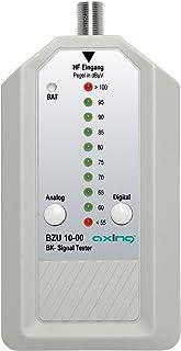 Axing BZU 10 00 BK Signaltester Kabelfernsehen analog/digital