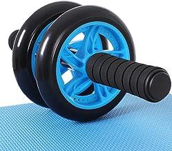 Songmics buikroller, buiktrainer, voor fitness, met antislip, goed gevoerde kniemat, buikspiertraining en spieropbouw, voo...