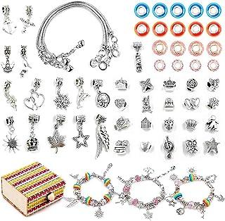 SUNNYPIG DIY Jewellery Bracelet Making Kit for Girls, Arts Craft Sets for Kids - Best Gift
