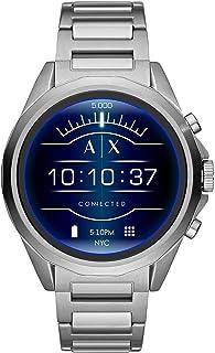 Armani Exchange Smartwatch con tecnología Wear OS by Google, Google Assistant, Notificaciones de Smartwatch y Google Fit