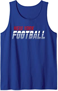 New York Gameday Football Field Apparel Tank Top