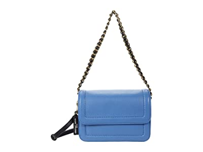 Marc Jacobs The Mini Cushion Bag (Coastal Blue) Handbags