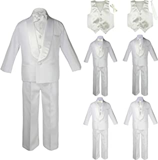 MILLTEX Classic Gift Wedding Party Tuxedo Suits Color Satin Vest /& Bow tie Only from Boy Kids Preadolescence Size 5-14