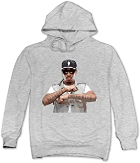 XJBD Men's The Future Rapper Novel Sweatshirt Ash