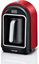 الة صنع القهوة التركية اوبتيسينس بقوة 735 وات من بلاك +ديكر، 330 مل، احمر، TCM700