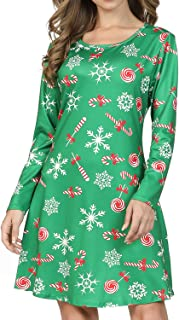 Best womens christmas themed dresses Reviews