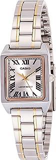 Casio Womens Quartz Dress Watch, Analog and Stainless Steel- LTP-V007SG-9BUDF