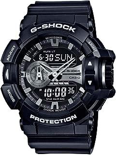 G-Shock Black and Silver-Tone Dial Resin Quartz Men's Watch GA400GB-1A