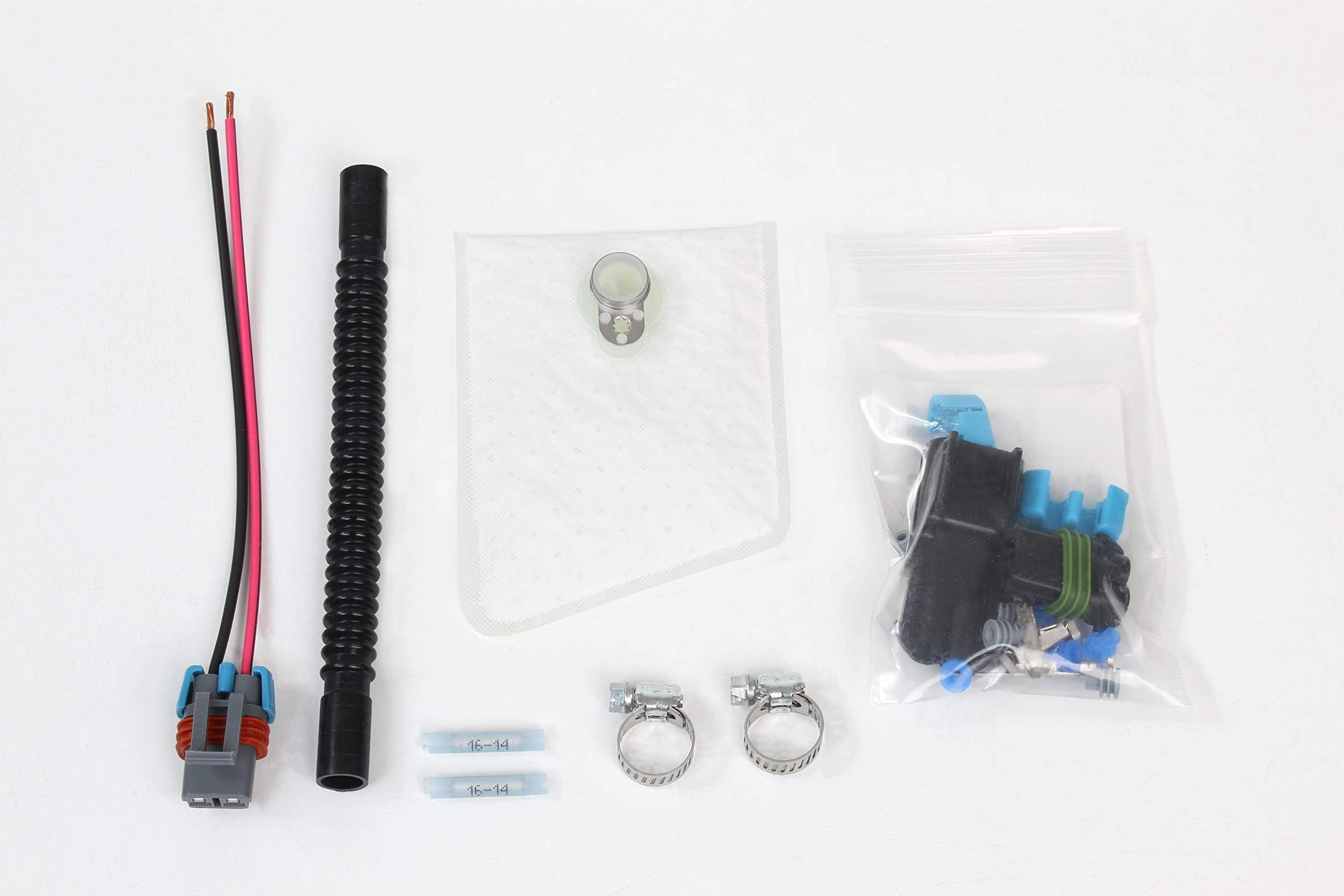 HFP-K125-190/Fuel Pump Install Kit for Walbro//TI F90000267 F90000274 F90000285 F90000295 450LPH E85