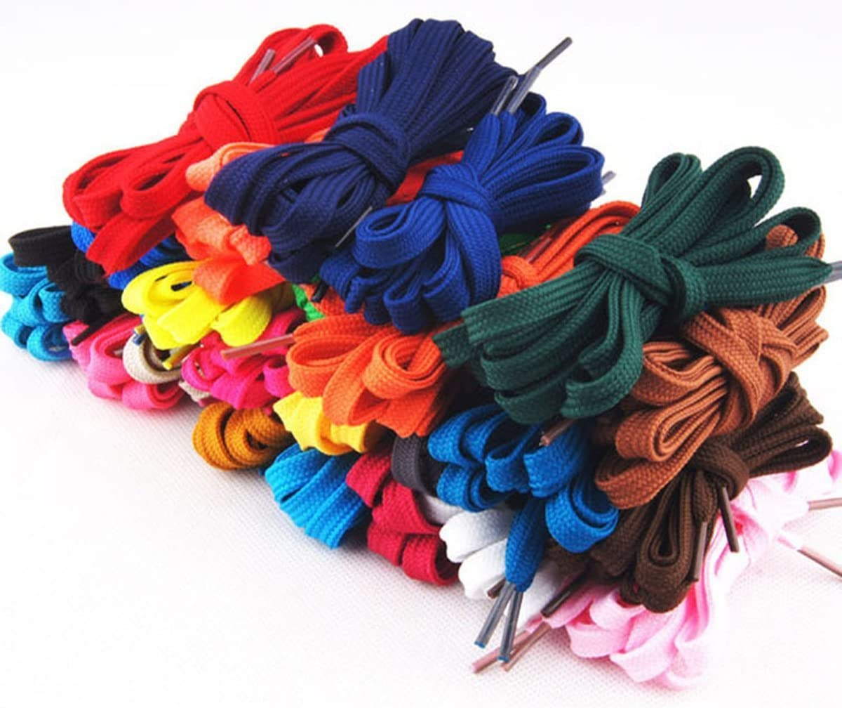 12 Pairs Flat Athletic 31 39 47 59 70 Inch Sneaker Shoelaces shoe lace strings