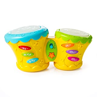 Fat Brain Toys Beat Bop Baby Bongo Baby Toys & Gifts for Babies