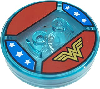 Lego Parts: Dimensions Toy Tag 4 x 4 x 2/3 with 2 Studs for Wonder Woman #19