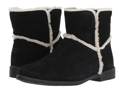 UGG Kids Coletta Boot (Toddler/Little Kid/Big Kid) (Black) Girls Shoes