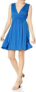 Star Vixen Women's Sleeveless Empire Waist Summer Sun Dress