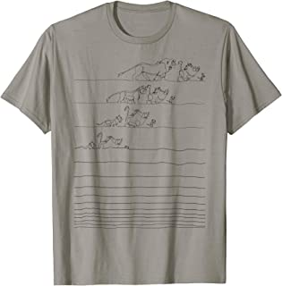 Lion King Hakuna Matata Line Art Graphic T-Shirt