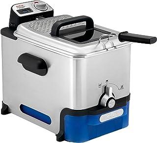 Tefal Oleo Clean Friteuse semi-professionnelle 3,5 L, 2300 W, Jusqu'à 6 pers, Filtration automatique de l'huile, Minuteur ...