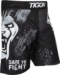 Tigon MMA Shorts Tiger Fight UFC Grappling Short Kick Boxing Muay Thai Cage Pants