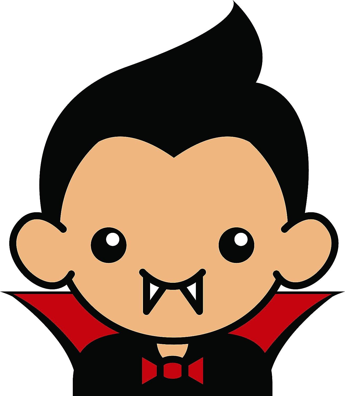 Amazon Com Cute Vampire Halloween Costume Character Kid Baby Cartoon Vinyl Sticker 8 Tall Plain Automotive