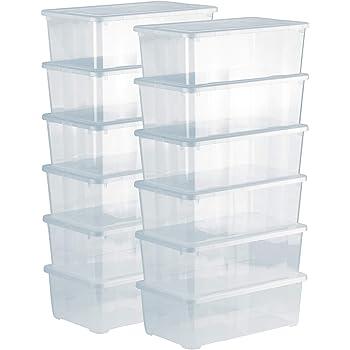 Sundis Rotho 6334390000 - Caja de almacenamiento con tapa, color ...