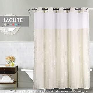 Best beige hookless shower curtain Reviews