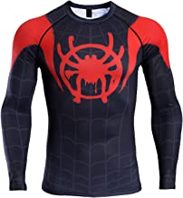 Super-Hero Into The Spider-Verse Men's Compression Shirt
