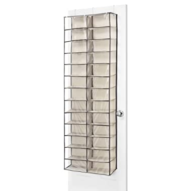 Whitmor Over the Door Shoe Shelves, 26 Section