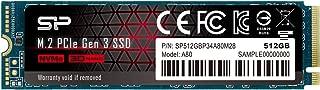 シリコンパワー SSD 512GB 3D NAND M.2 2280 PCIe3.0×4 NVMe1.3 P34A80シリーズ 5年保証 SP512GBP34A80M28