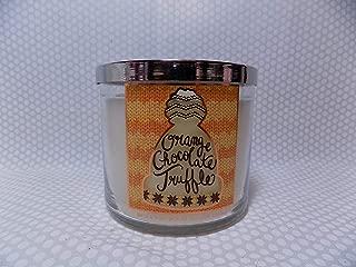 Bath and Body Works Orange Chocolate Truffle 3 Wick Scented Candle 14.5 oz (Orange Zest, Sea Salt, Dark Chocolate)