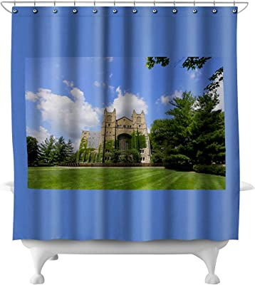 The Law Library At University Of Michigan Photography A 90641 71x74 Polyester Shower Curtain