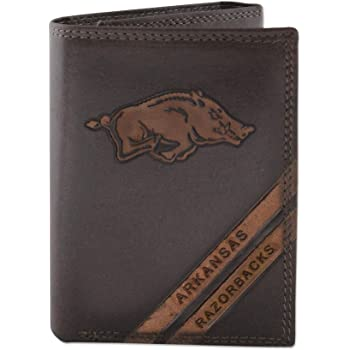 NCAA Rico Industries  Laser Engraved Billfold Wallet Arkansas Razorbacks