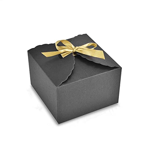 4dba086ddd Syndecho 24pcs Kraft Paper Boxes DIY Gift Packing Candy Boxes Bags for  Birthday Party Wedding Anniversary