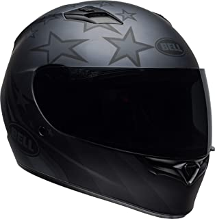 Bell Qualifier Full-Face Motorcycle Helmet (Honor Matte Titanium/Black, Large)