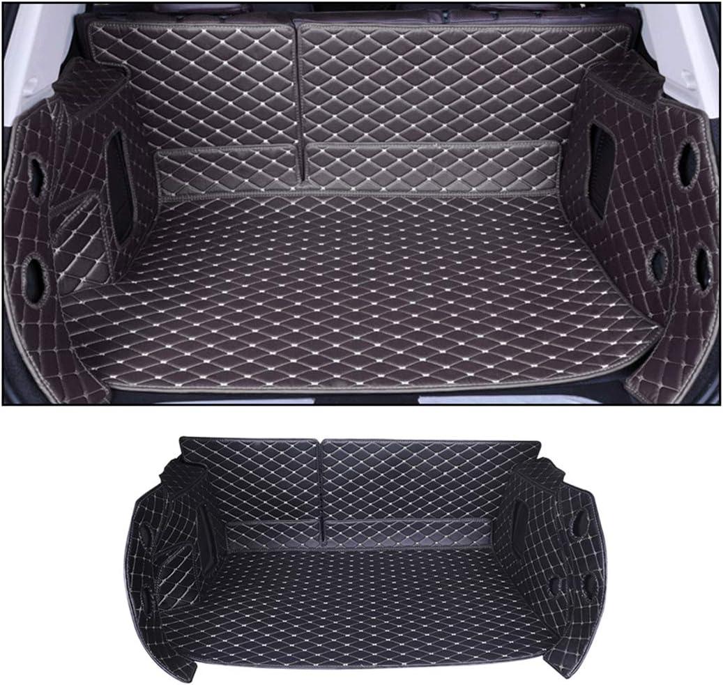 ALLYARD Kofferraummatte F/ür B MW X5 E70 F15 G05 E53 2014-2018 Flat Style Allwetter-Schutz XPE Leder Kofferraumwanne Kofferraumschutzmatte Beige