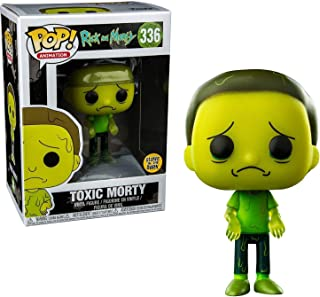Pop! Animation Rick & Morty Vinyl Figure Toxic Morty (Glows in The Dark) #336 Target Exclusive (Sub-Standard) Figure is Mi...