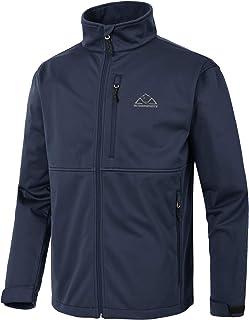TBMPOY Men's Softshell Mountain Ski Jacket Waterproof Hiking Hunting Fleece Outerwear Winter Coat