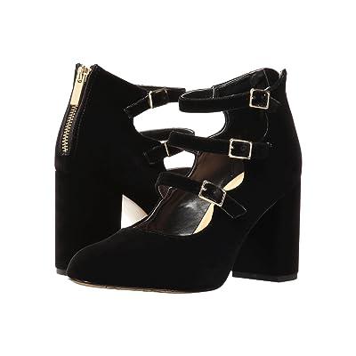 Bella-Vita Nettie (Black Velvet) High Heels