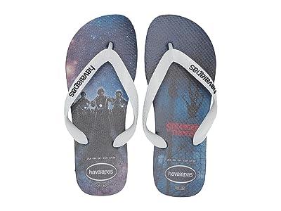 Havaianas Top Stranger Things Sandal (Navy Blue) Men