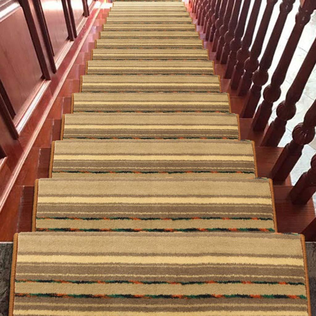 World-ditan Escalera alfombras peldaños Escalera peldaño Adhesivo Interior Autoadhesivo Escalera Antideslizante (Color : D (1pcs), Tamaño : 90 * 24 * 3cm): Amazon.es: Hogar