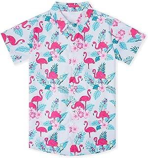Uideazone Kids Pajamas Boys Girls 2 Piece Pjs Set Cotton Sleepwear (2-11 Years)